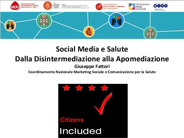Patients Included PatientsIncludedisaTrademarkoftheREshape&InnovationCenter ™ Citizens Social	Media	e	Salute	 Dalla	Disint...