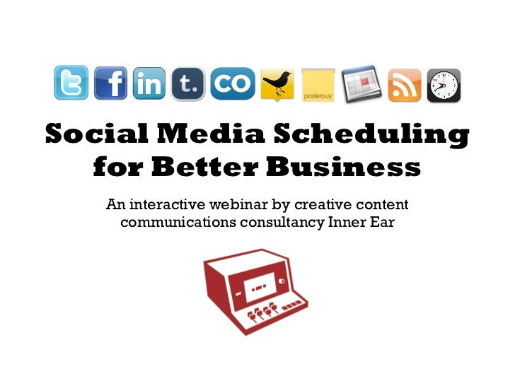 Social Media Scheduling for Better Business