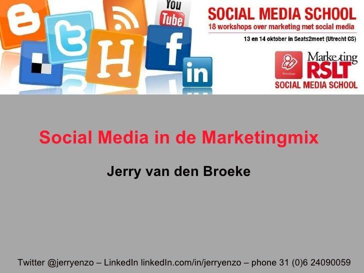 Social mediaschool2010