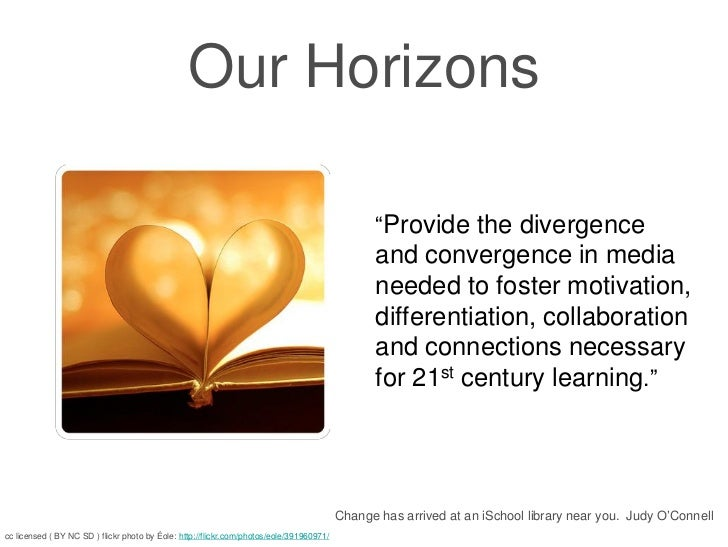 "Our Horizons                                                                                                ""Provide the d..."
