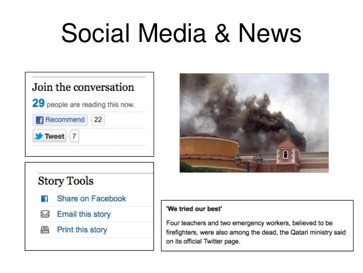 Social Media & News