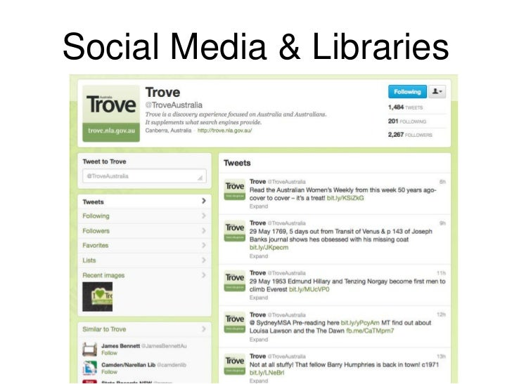 Social Media & Libraries