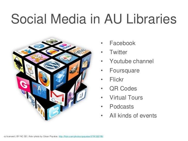 Social Media in AU Libraries                                                                                              ...