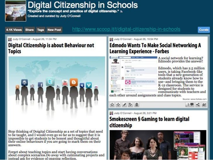 http://www.scoop.it/t/social-networking-for-information-professionals        http://www.scoop.it/t/digital-citizenship-in-...