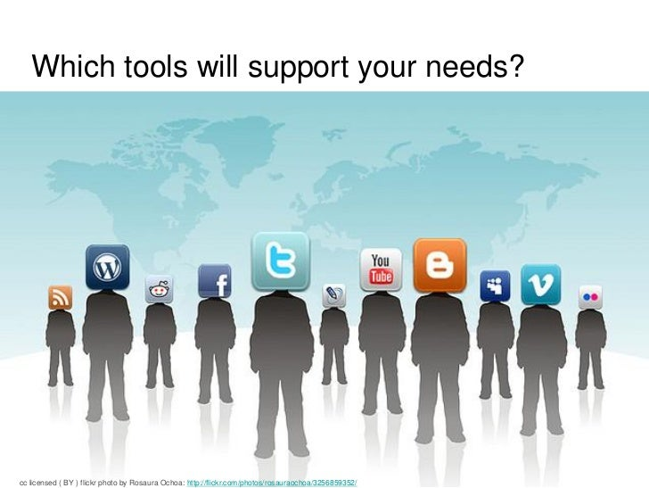 Different tools require different levels ofWhich tools will technology, staff and time resourcing in support your needs?  ...