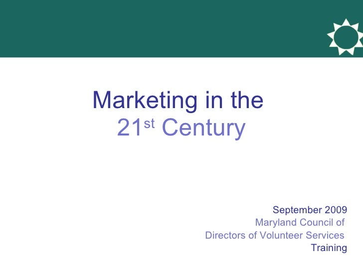 Using the Web & Social Media for Volunteer Engagement September 2009