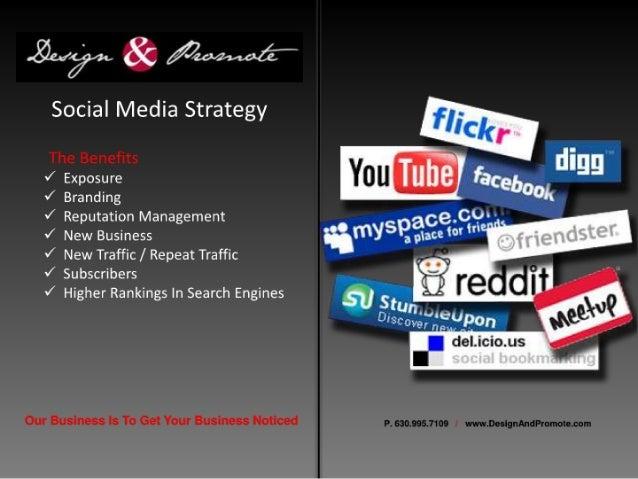 Social Media Services Design & Promote