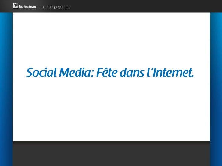 Social Media: Fête dans l'Internet.     Ein Toter Dichter