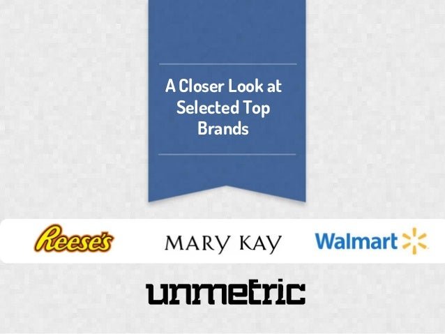 A Closer Look at Selected Top Brands