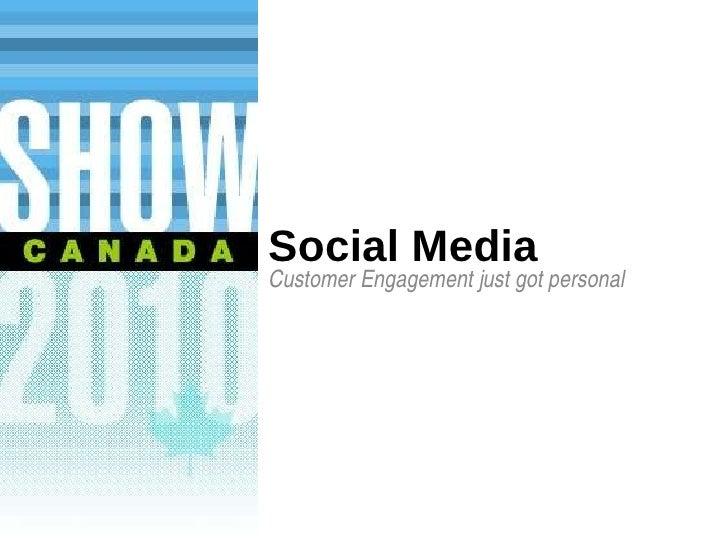 Social Media Customer Engagement just got personal