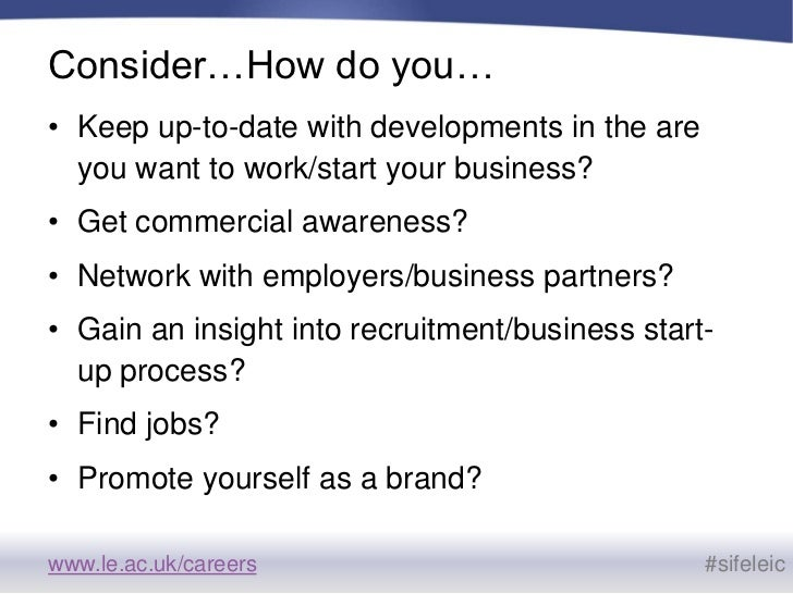 using social media to develop a personal brand sife 2011 - Using Social Media For Branding Yourself Promoting Yourself And Finding A Great Job