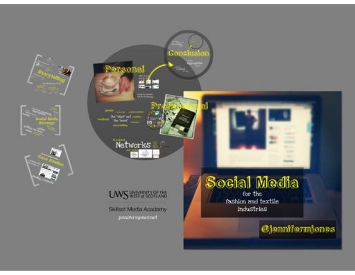 Workshop: Social Media for the Fashion & Textile Industries