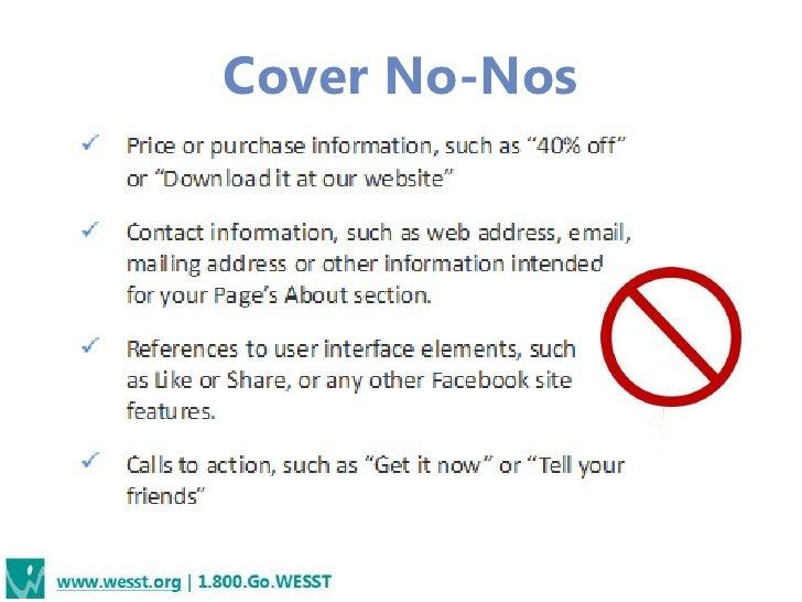 Cover No-Nos