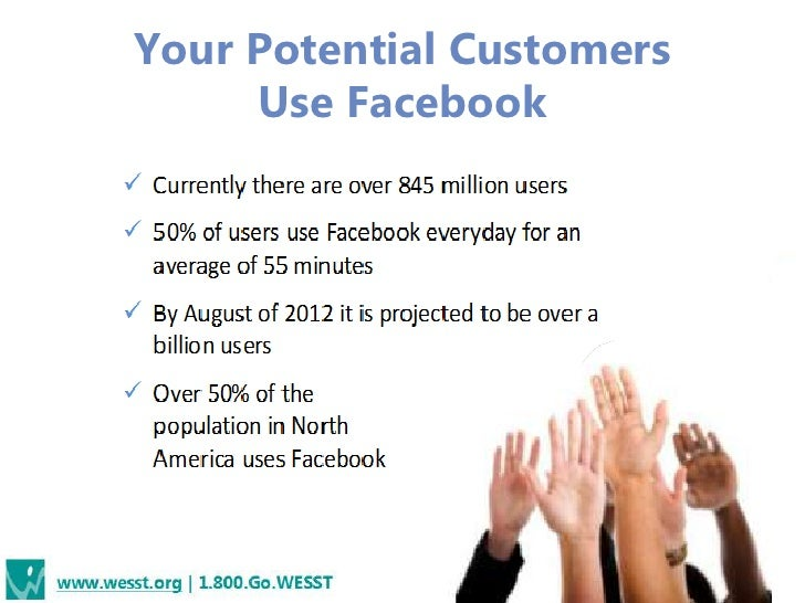 Your Potential Customers     Use Facebook