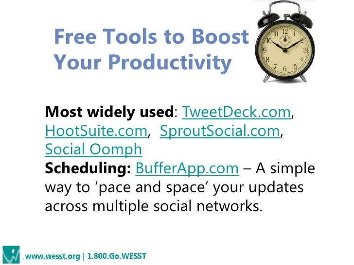 Mostly Free Monitoring Tools• EdgeRank Checker –  free and paid versions• Simply Measured –  Paid web based  software• Goo...