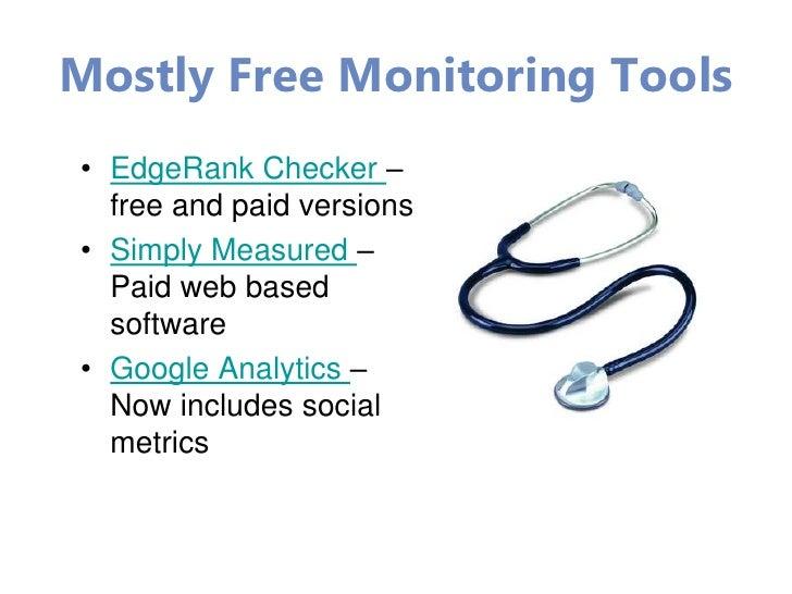 Helpful Social Media Blogs•   Social Media Examiner – Michael Stelzner runs the       •   Social Media Explorer – Daily ad...