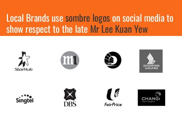 Global Brands soon follow suit to pay tribute