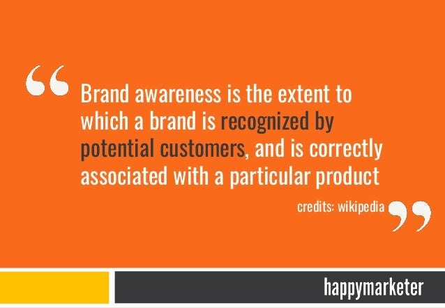 Measuring brand awareness – Traditional media GROSS RATING POINTS (GRP) = REACH X FREQUENCY Reach : Number of people who s...