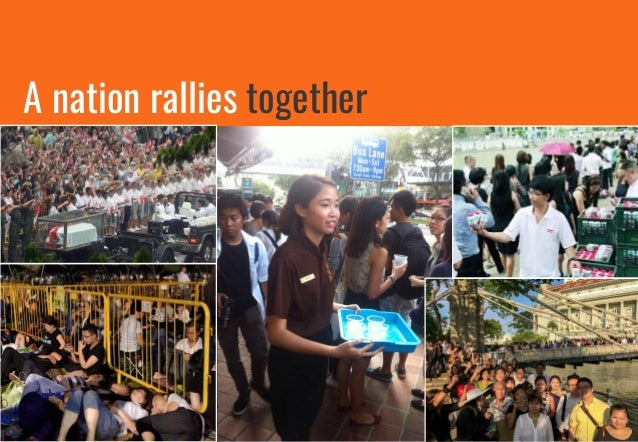 A nation rallies together on social media #LeeKuanYew #NoYewNoUs #RememberingLKY #ThankYouLKY