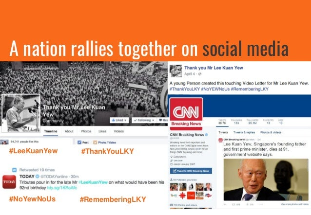 Local Brands use sombre logos on social media to show respect to the late Mr Lee Kuan Yew