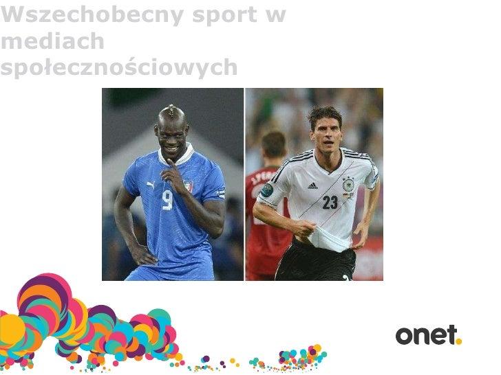 Wszechobecny sport wmediachspołecznościowych