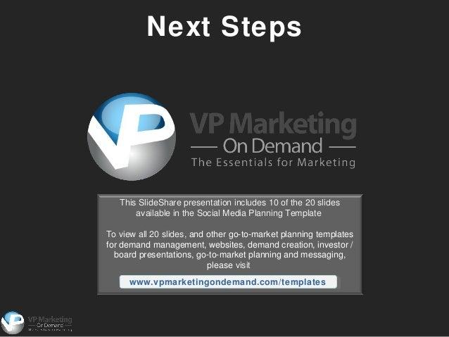 Social media planning powerpoint template 12 toneelgroepblik Images
