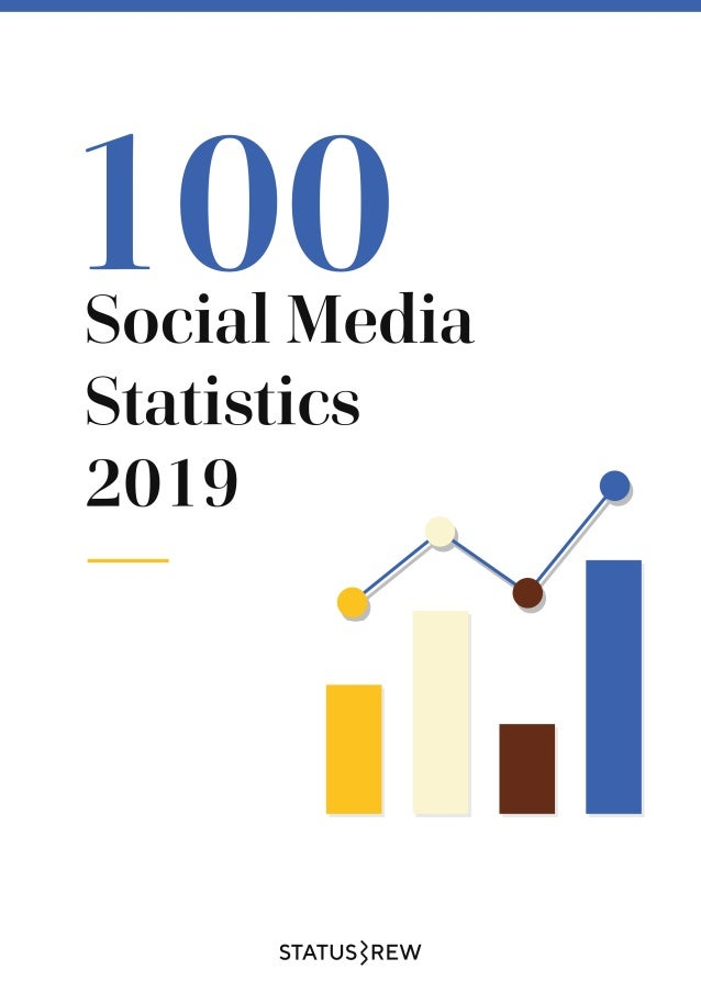 100 Social Media Statistics For Businesses 2019