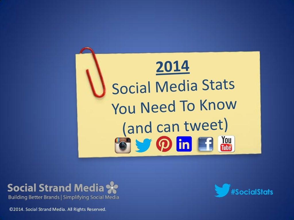 Social Media Stats 2014