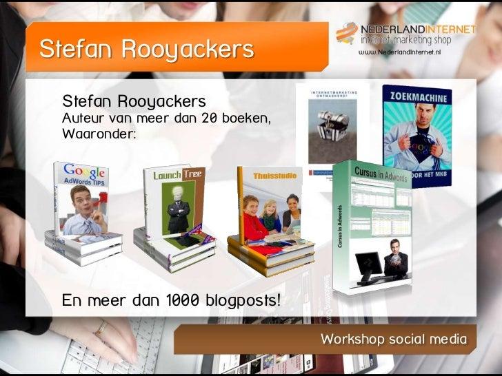 Social media Workshop FC Twente stadion Slide 2
