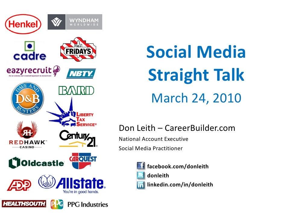 SocialMedia           Social Media           StraightTalk                g             March24,2010  DonLeith– Care...