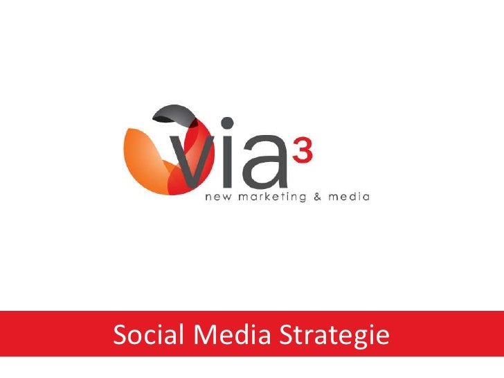 Social Media Strategie<br />