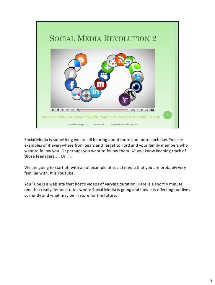 Social media strategies for small business   notes pages Slide 3