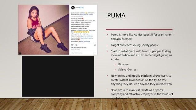 Social Media Strategy Nike Adidas Puma