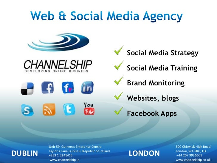 Social Media Strategy                                                       Social Media Training                         ...