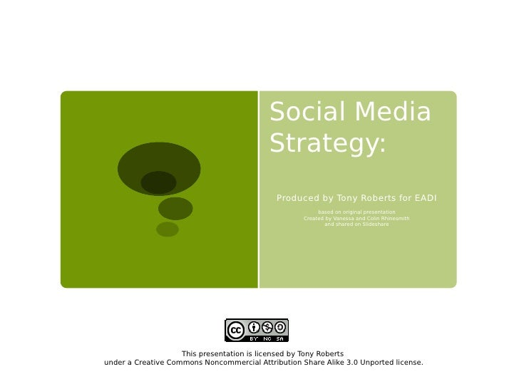 Social Media                                           Strategy:                                             Produced by T...