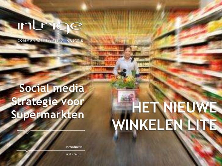 Vakcentrum: Facebook inzet voor supermarkten, focusgroep: gezinnen