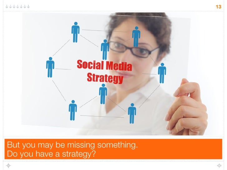 13But you may be missing something.Do you have a strategy?