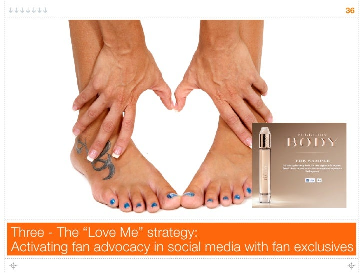"""36Three - The """"Love Me"""" strategy:Activating fan advocacy in social media with fan exclusives"""