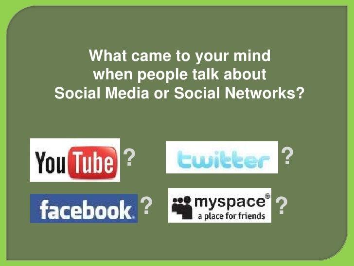 Social Media Summit Slide 3