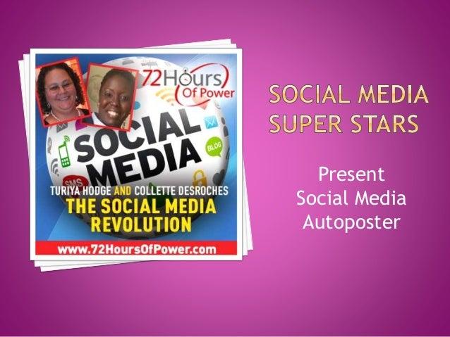 Present Social Media Autoposter
