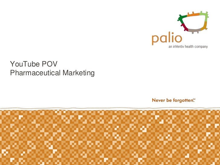 YouTube POVPharmaceutical Marketing<br />