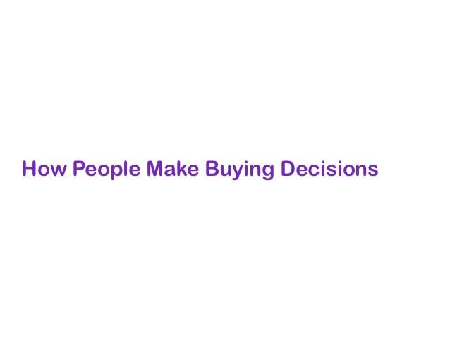 The AIDA Model of Consumer Behavior                Consumer Response Models                                               ...