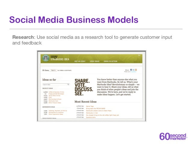 Social Media Business ModelsCustomer Retention: Use social media as a customer retention tool to reducechurn
