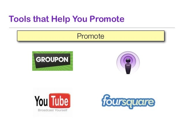 Tools that Help You Promote