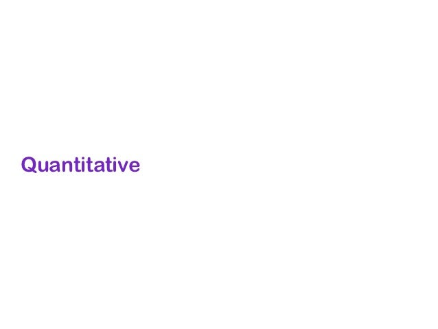 Quantitative: Online Chatter