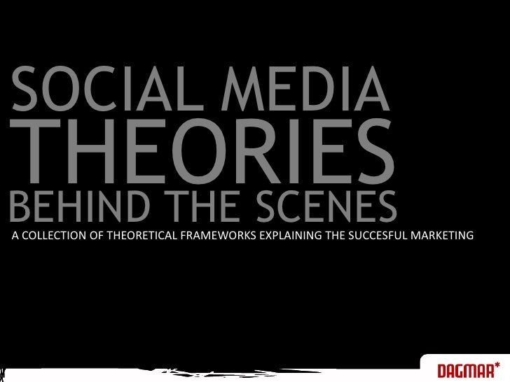 SOCIAL MEDIA<br />THEORIES<br />BEHIND THE SCENES<br />A COLLECTION OF THEORETICAL FRAMEWORKS EXPLAINING THE SUCCESFUL MAR...