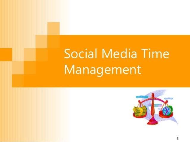 Social Media Time Management  1