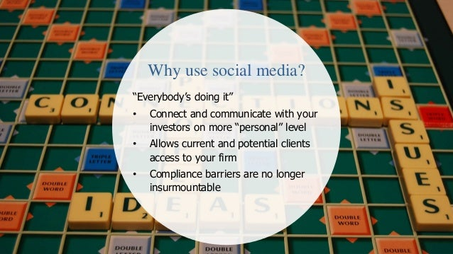 Social media tips for asset managers slide share  Slide 2
