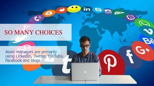 Social media tips for asset managers slide share  Slide 3
