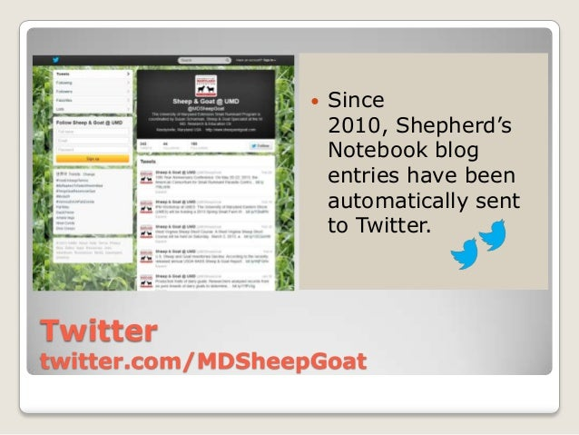    Since                       2010, Shepherd's                       Notebook blog                       entries have be...